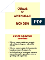 CURVAS DE APRENDIZAJE