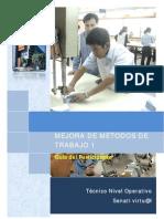Mejora de Metodos d Trabajo (Manual)