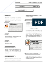III Bim - 4to. año - Guía 1 - Numeración I