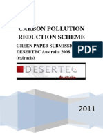 Carbon Pollution Reduction Scheme Green Paper Submission