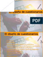El diseño de cuestionarios1