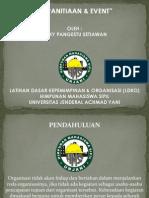 Latihan Dasar Kepemimpinan & Organisasi (EVENT)