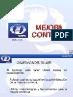 INALCEC Mejora Continua - Taller 17 Oct