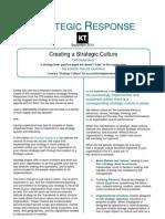 SR Creating Strategic Culture