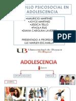 Desarrollo Psicosocial en La Adolescencia