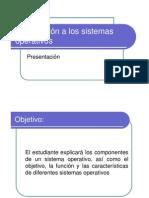 Introduccion a Los Sistemas Operativos