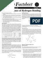 77 Hydrogen Bonding