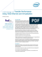Maximizing File Transfer Performance Using 10Gb Ethernet and Virtualization