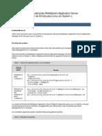 Creación de perfiles utilizando WebSphere Application Server Deployment Manager de 64 bits para Linux en System z