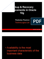 Backup&Recovery.Enhancements.in.Oracle10g-Presentation