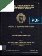 Antologia de Lenguaje de Program a Ion