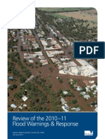 Review of the 2010 11 Flood Warnings and Reponse INTERIM REPORT