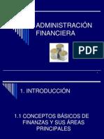 ADMINISTRACIÓN FINANCIERA UNIDAD I