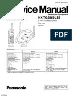 KX-TG2556LBS