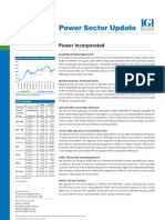 Power Sector Update