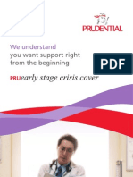 PRUearly Stage Crisis Cover eBrochure