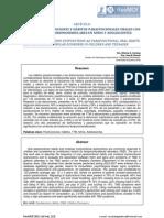 RELACIÓN DE DISFUNCIONES Y HÁBITOS PARAFUNCIONALES ORALES CON TRASTORNOS TEMPOROMANDIBULARES EN NIÑOS Y ADOLESCENTES