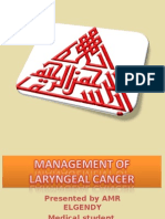 Management of laryngeal cancer2003