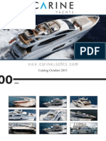 Carine Yachts - Azimut Yachts Brokerage - catalog October 2011