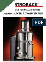 40133 Design Juicer Advanced Pro Manual English Download