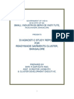Diagnostic Study Report of Readymade Garment Cluster - Bangalore