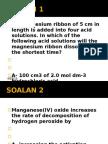 Soalan Latihan - Rate of Reaction
