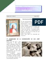 Boletín Pastoral Junio 2011
