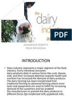 Dairy Industry Analysis