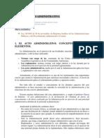 Curso Proced Tema 3 El Acto Administrativo