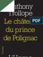 Le château du prince de Polignac, d'Anthony Trollope