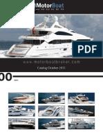 Motorboatbroker - Yacht Brokerage - Catalog October 2011