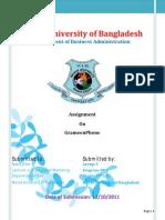 Final Assignment on GrameenPhone