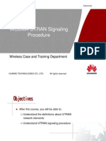 03-WCDMA UTRAN Signaling Procedure