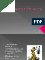 Hepatitis Alcoholic A Presentacion