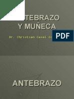 CLASE ANTEBRAZO Y MUÃ'ECA