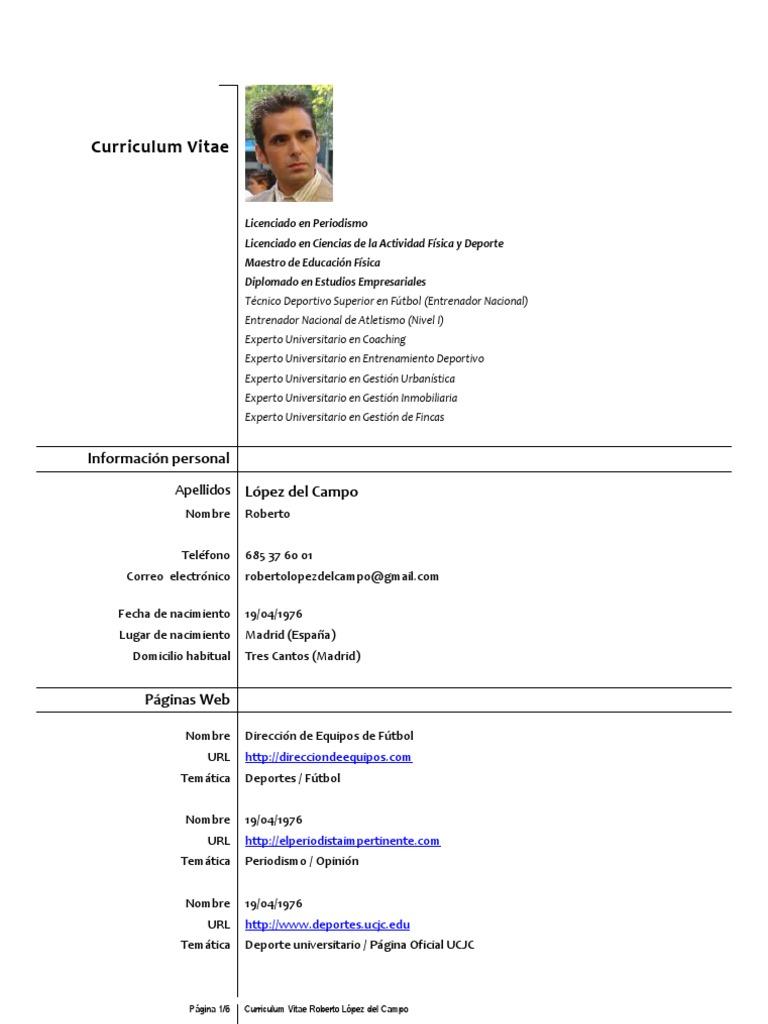 Curriculum Vitae Roberto Lopez Del Campo_oct_2011