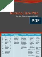 Nursing Care Plan ER