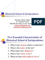 Legal Methods - Historical School