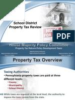 Representative Seth Grove - PA School District Property Tax Review