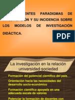 Los Diferentes Paradigm As de Investigacin