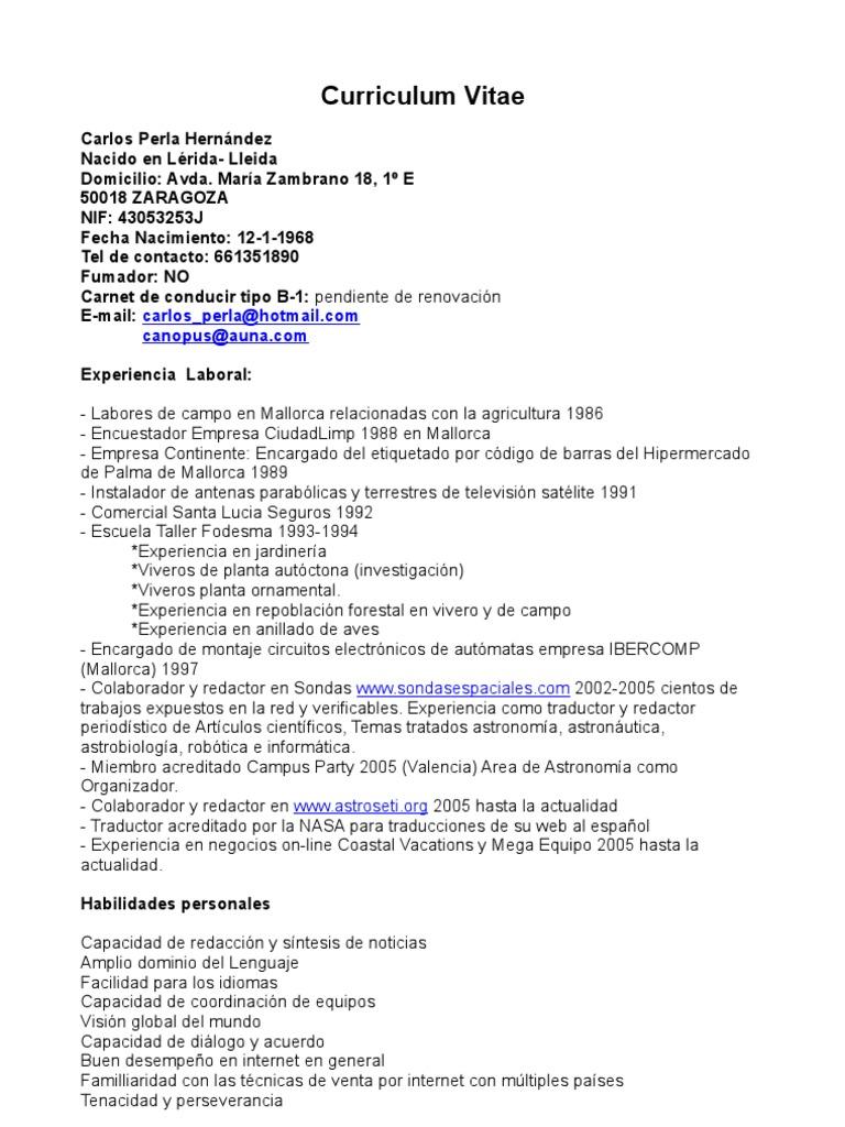 Perfecto Muestra De Habilidades De Reanudación Para El Asociado De ...