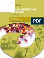 Dose Administration Aids - Information Booklet to Pharmacies - Department of Veteran Affairs