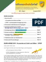INFLATIONSSCHUTZ-BRIEF (Börsenbrief Börsenmagazin Anlegermagazin) gekürzte Ausgabe 27/2011 | Euro-Krise 2011