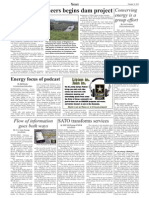 Bavaria News--Corps of Engineers begins dam project