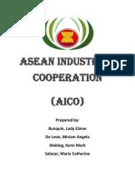 Asean Industrial Cooperation