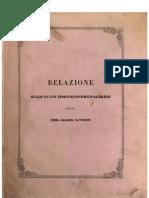 G. A. Pasquale, Relazione sullo stato fisico-economico-agrario della Prima Calabria Ulteriore