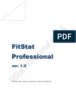 Manuale FitStat 1.5 per Windows