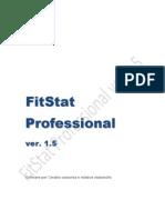 Manuale FitStat 1.5 per Windows