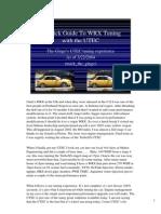 UTEC Quick Guide-Notes 03 22 2004