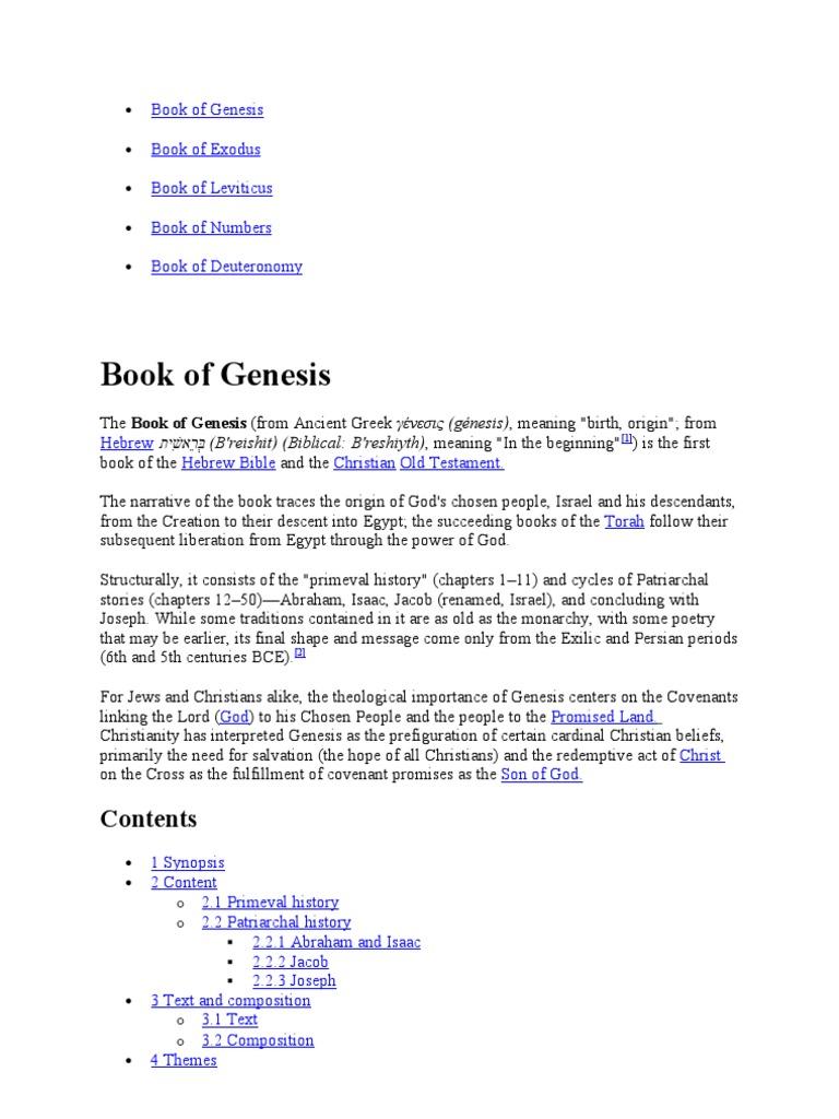 Torah books wikipedia follow septuagint bible fandeluxe Image collections